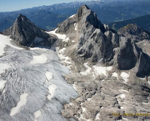 Dachstein mit Gletscher 2012