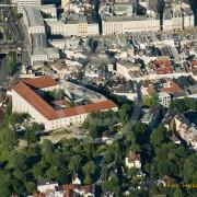 Schloss Linz mit Hauptplatz
